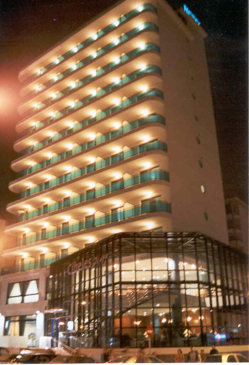 Отель с собственным пляжем на коста бланка валенсия